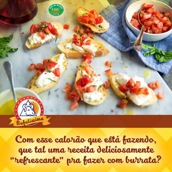 Bruscheta de Burrata