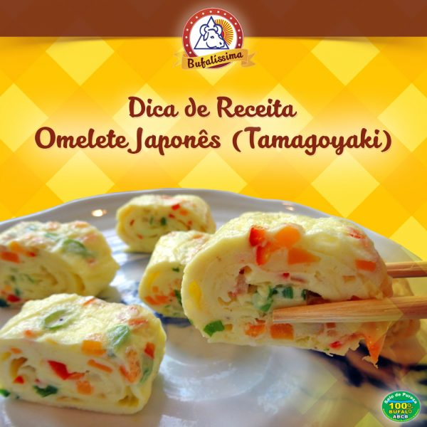 Omelete Japonês (Tamagoyaki)
